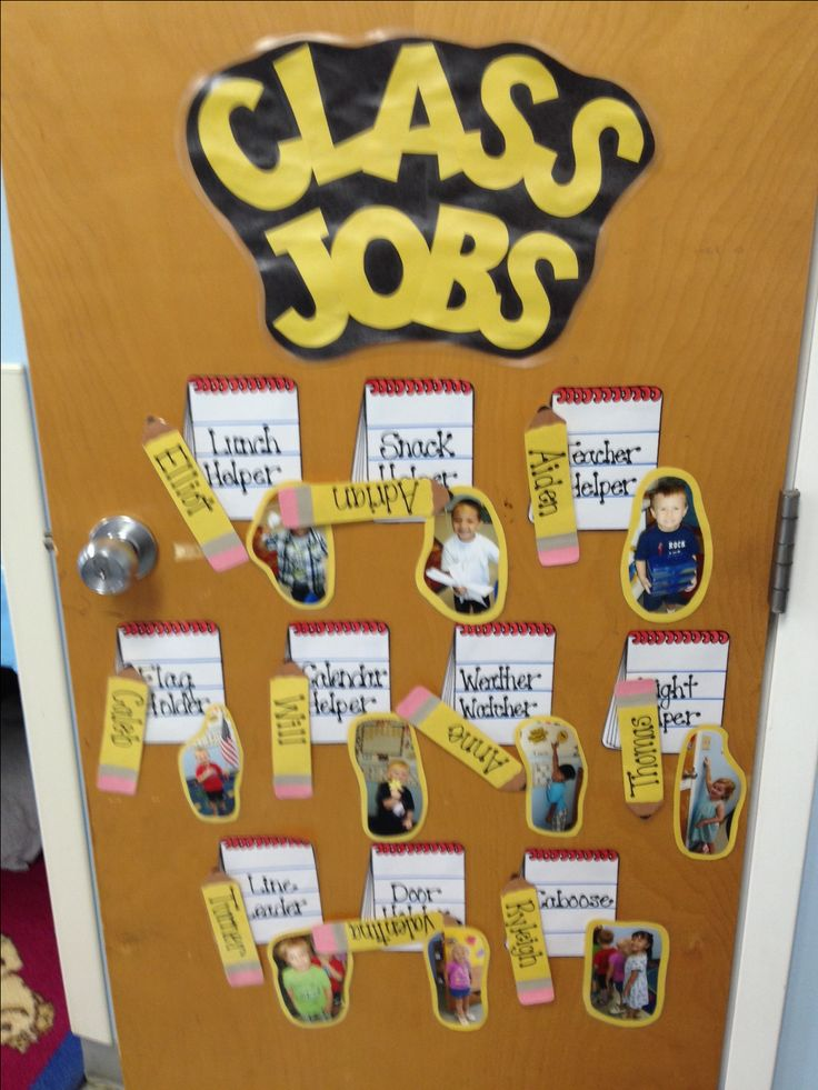Everybody needs a job to do! Look at this classrooms Job Chart!