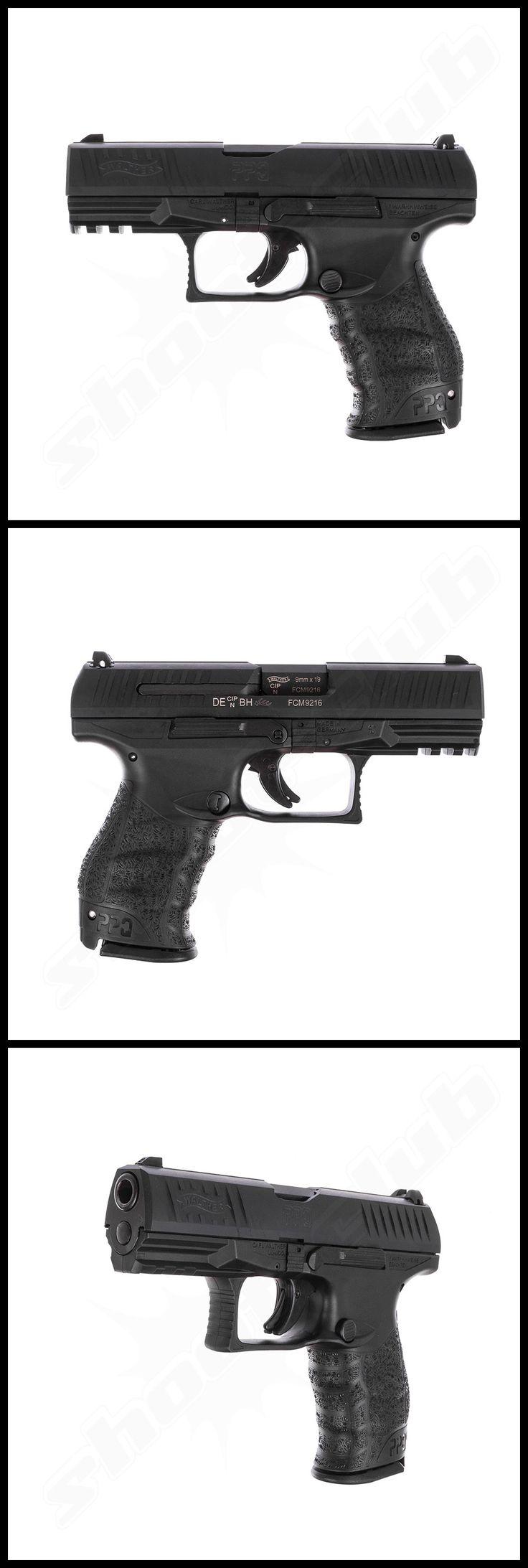 Walther PPQ M2 Selbstlade Pistole, 4 Zoll Kal. 9x19mm    - weitere Informationen und Produkte findet Ihr auf www.shoot-club.de -    #shootclub #pistol #pistole #guns  #9mm