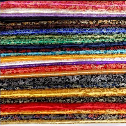 Goedkope 90cm*100cm brokaat stof cos kostuum kimono kostuum cheongsam zijde brokaat stof draak feest jurk trouwjurk stof, koop Kwaliteit stof rechtstreeks van Leveranciers van China: 70cm*100cm Brocade fabric costume clothing COS kimono dress silk satin fabric gold peony wedding dress fabric party dres