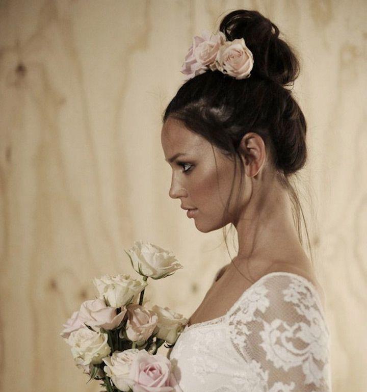 19 Pin Worthy Top Knots for Brides - Mon Cheri Bridals