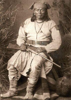 UNITED STATES (Oklahoma / New Mexico) - The Chiricahua Apache Nation - Bonito, Chiricahua Chief