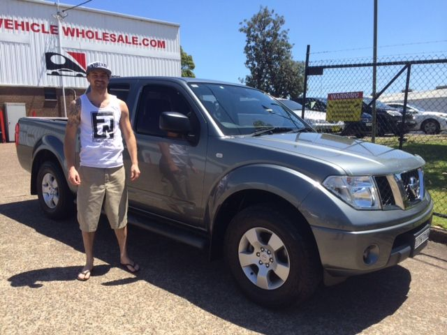 Brock made the trip from Port Macquarie to pick up his Nissan Navara today. Thanks for visiting www.motorvehiclewholesale.com