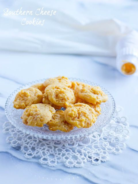 """Southern Cheese Crackers Recipe -- Jama says """"I think this is the recipe for the cheese crackers my mother used to make"""" Loved them!"""