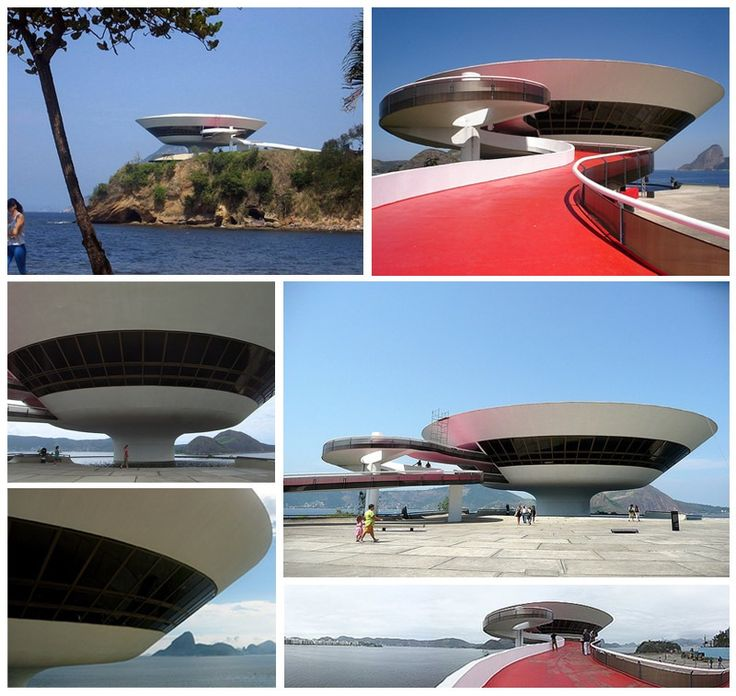 Top 33 World's Strangest Buildings Museum of Contemporary Art, Rio de Janeiro, Brazil - not as interesting as their modern museum, in my opinion