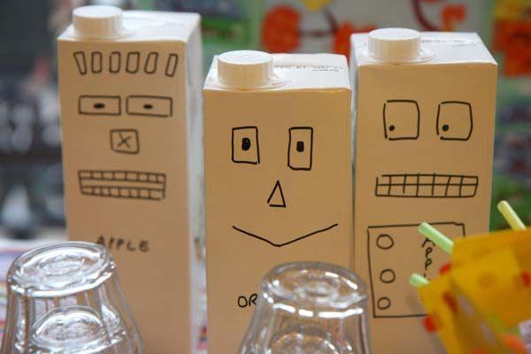 Brick de jus de fruit... en robot !                                                                                                                                                     Plus