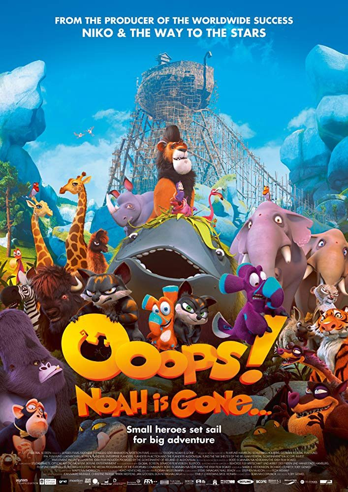Ooops Noah Is Gone 2015 Hindi Org Dual Audio 720p Uncut Bluray