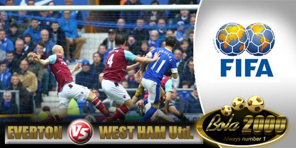 Prediksi Skor Bola Everton vs West Ham United 7 Jan 2015
