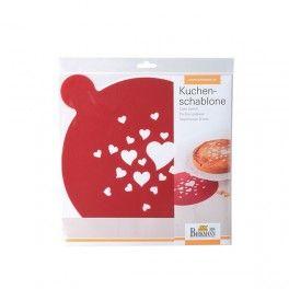 Szablon do dekoracji wypieków HEART #bakeshop #cakedecor #love #heart #baking