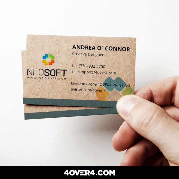 Best Business Cards Images On Pinterest Business Cards Card - 4over business card template