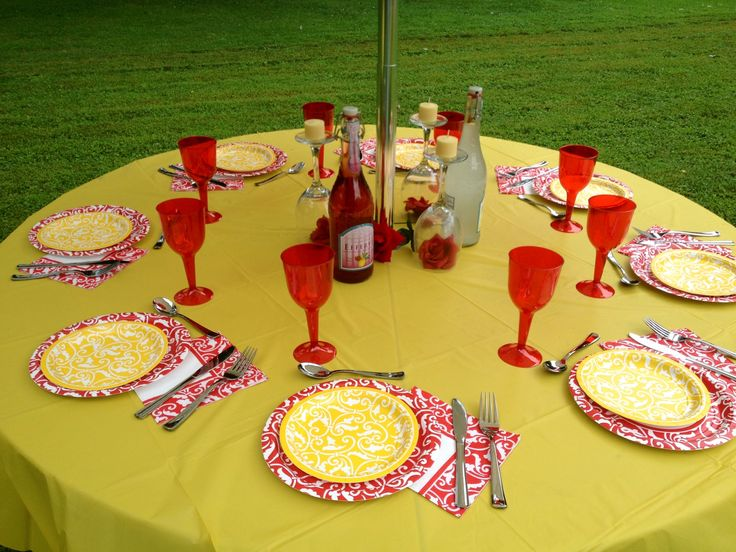 Beauty and the Beast theme Bridal Shower
