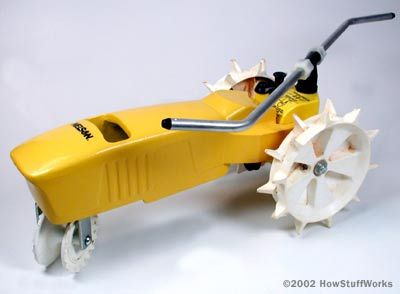 The rotating tractor sprinkler