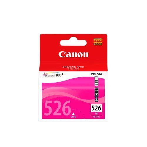 Canon - CLI-526M - Cartouche d'Encre d'Origine - Magenta