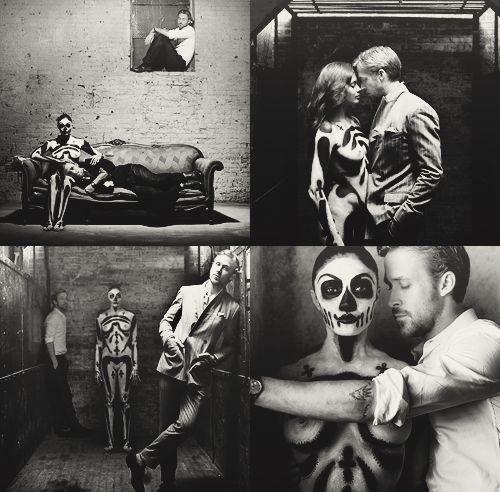 Photog love!Ryan Gosling, Ryangosling, Ryan Reynolds, Yummy Boys, Skull Makeup