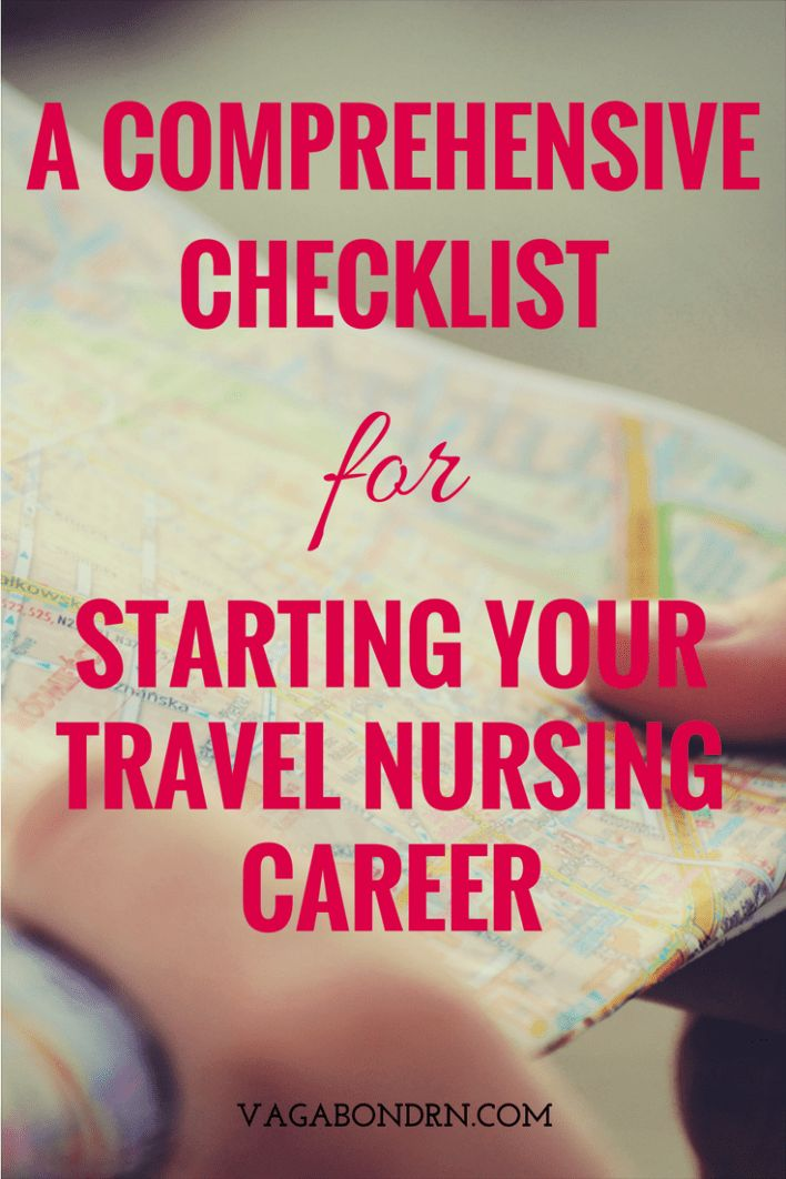 Starting Your Travel Nurse Career A Comprehensive