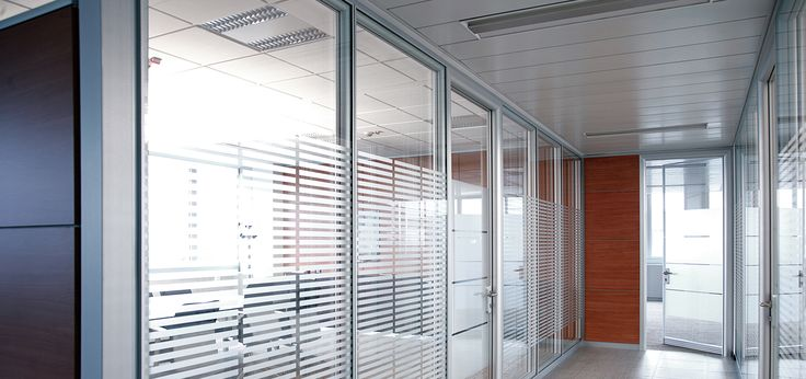 Framed Double Glazed Office Partitions