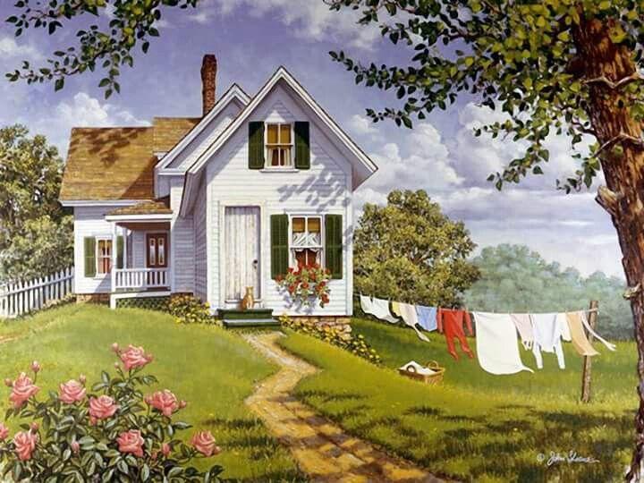 A fantasy friendship cottage I chose for us.