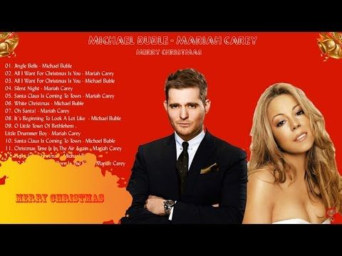 Mariah Carey Christmas Songs || Michael Buble Christmas Album - YouTube