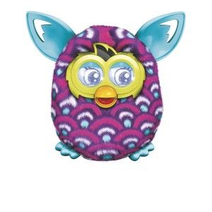 Furby Boom Purple Waves Plush Toy When you play with your Furby  creature using the free Furby Boom app, you can unlock the complete game experience. http://bit.ly/19Kzx2w