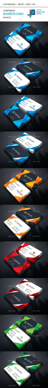 Corporate Business Card Template PSD Bundle. Download here: http://graphicriver.net/item/corporate-business-card-bundle/15765021?ref=ksioks