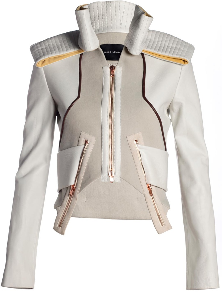 Pedro Lourenco Women's Multi Panel Architecture Jacket