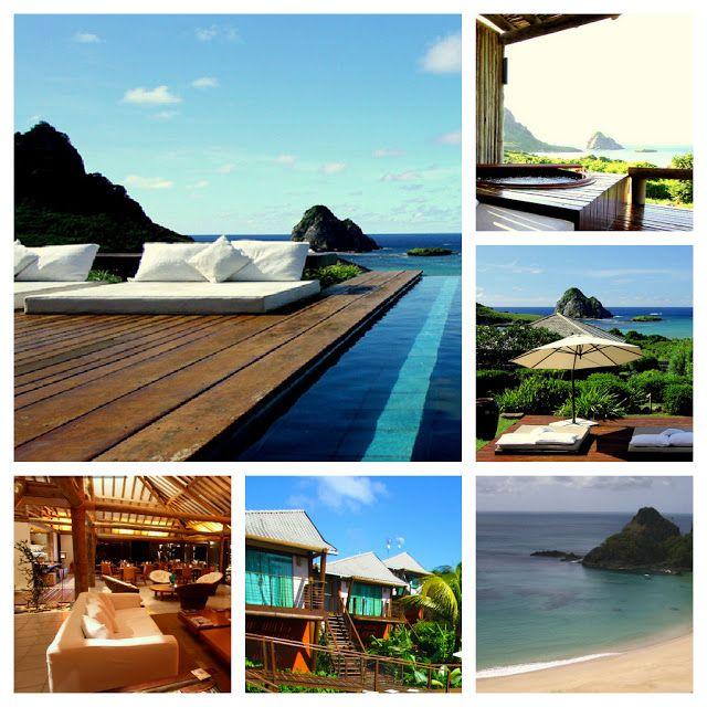 #Attractive resort image of fernando de noronha.