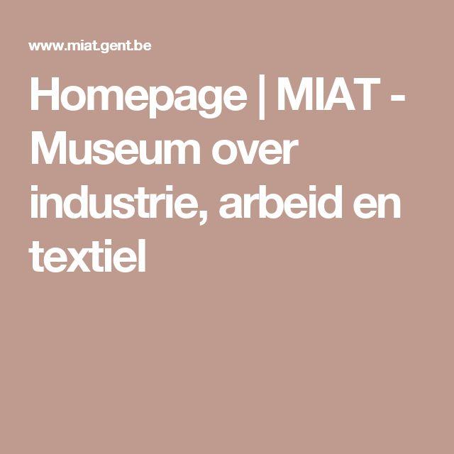 Homepage   MIAT - Museum over industrie, arbeid en textiel