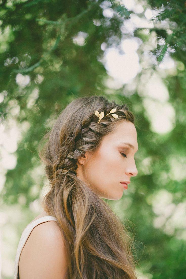 boho meets goddess hair accessories from Echo and Laurel // via jojotastic.com