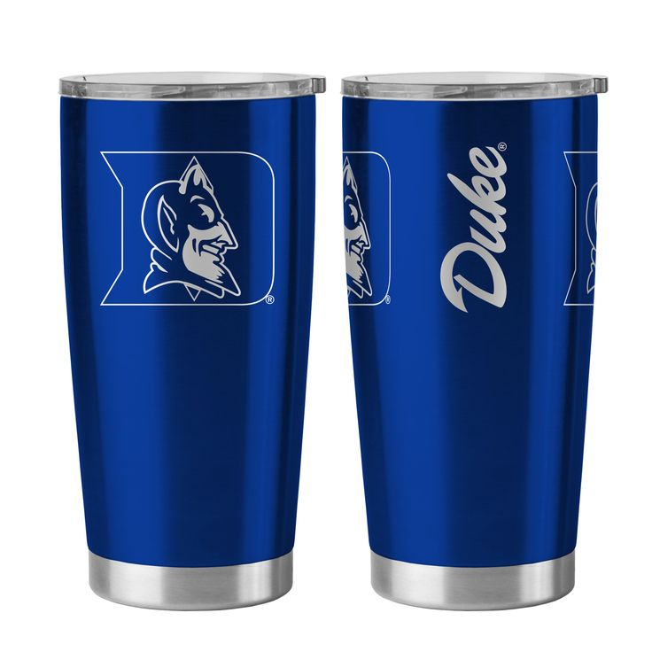 8886055306/888860487397/_B_ A 20 oz ultra tumbler with 18/8 stainless steel body with double-wall, vacuum insulated construction and slider top lid. Decorated with colorful team logo. Made by Boelter