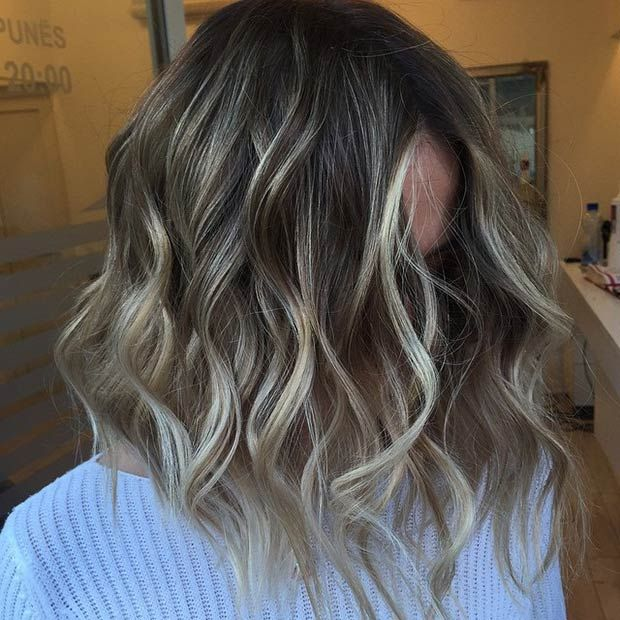Best 25 ash highlights ideas on pinterest ash highlights brown 47 hot long bob haircuts and hair color ideas pmusecretfo Gallery