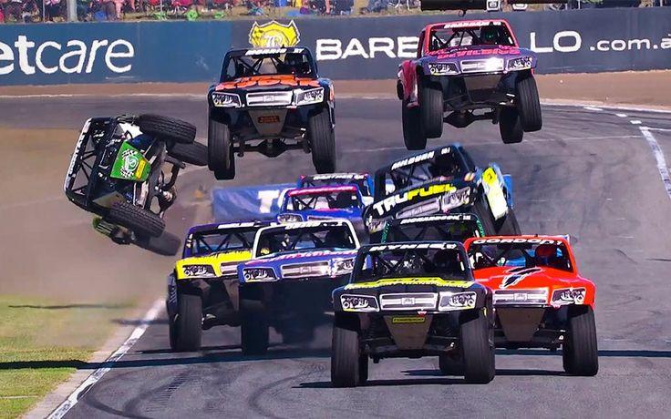 Stadium Super Trucks er fedt ræs med firehjulstrækkere