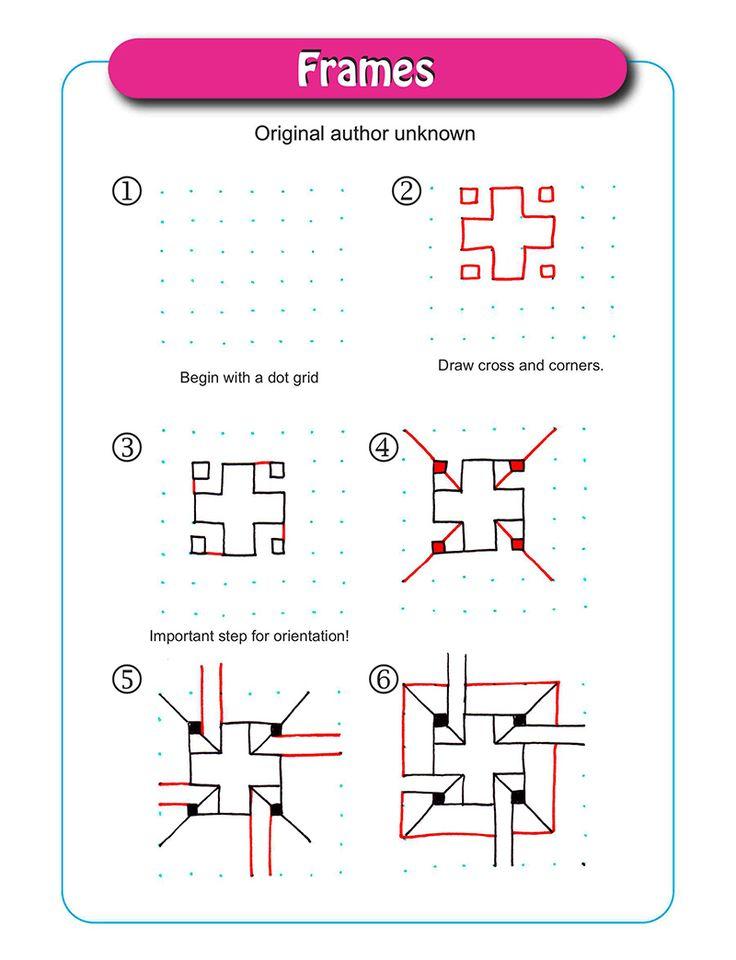 Frames pattern - Original author unknown