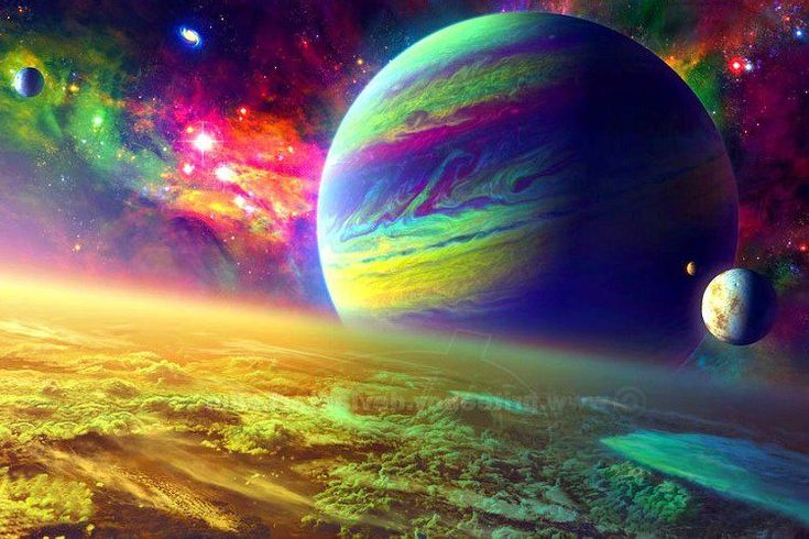 trippy planets - photo #33