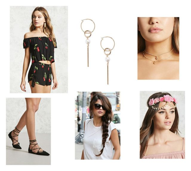 """Untitled #87"" by rosiepotter on Polyvore featuring Forever 21"