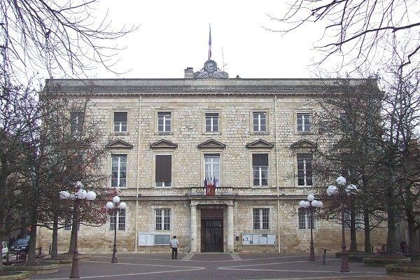 L'Hôtel de Ville d'Agen (Lot-et-Garonne)