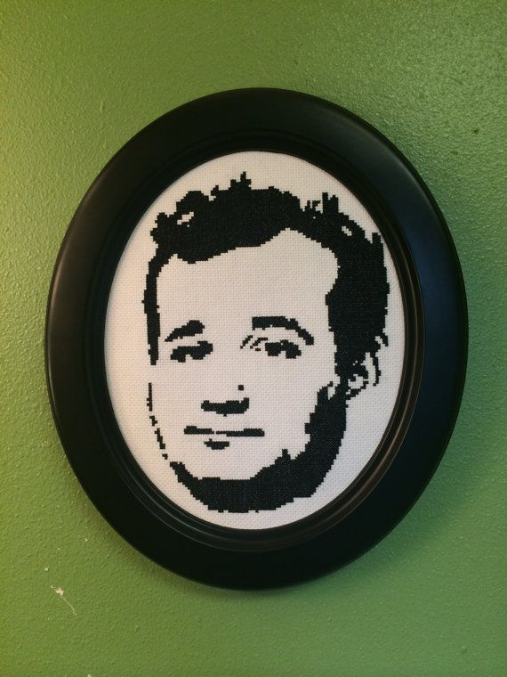 Finished Bill Murray CrossStitch With Frame by CraftComplex, $50.00