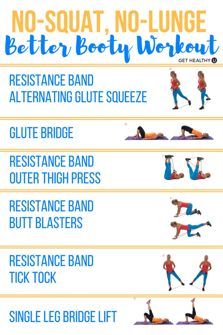 Check out these 6 moves that will help firm & tone your backside and require NO squats and NO lunges! Are you sick of squats and lunges? Change things up with these moves and find yourself burning calories and building muscle!