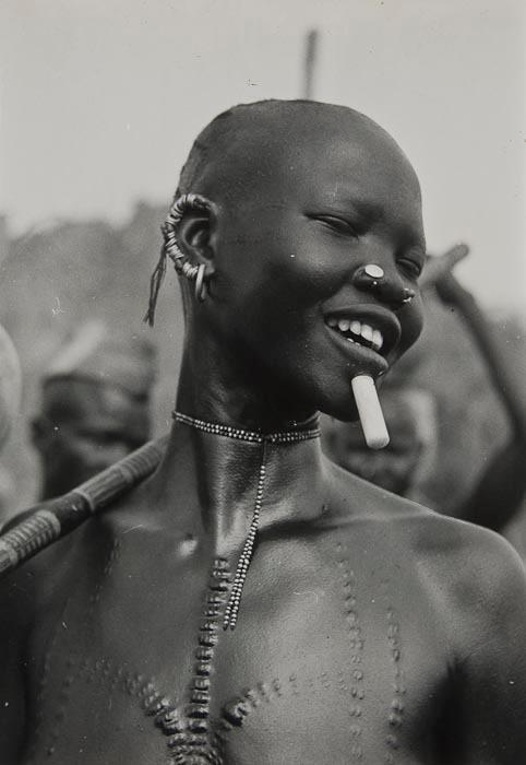 A Girl of the Koalib Nuba, Kordofan, Sudan, 1949 photo by George Rodger