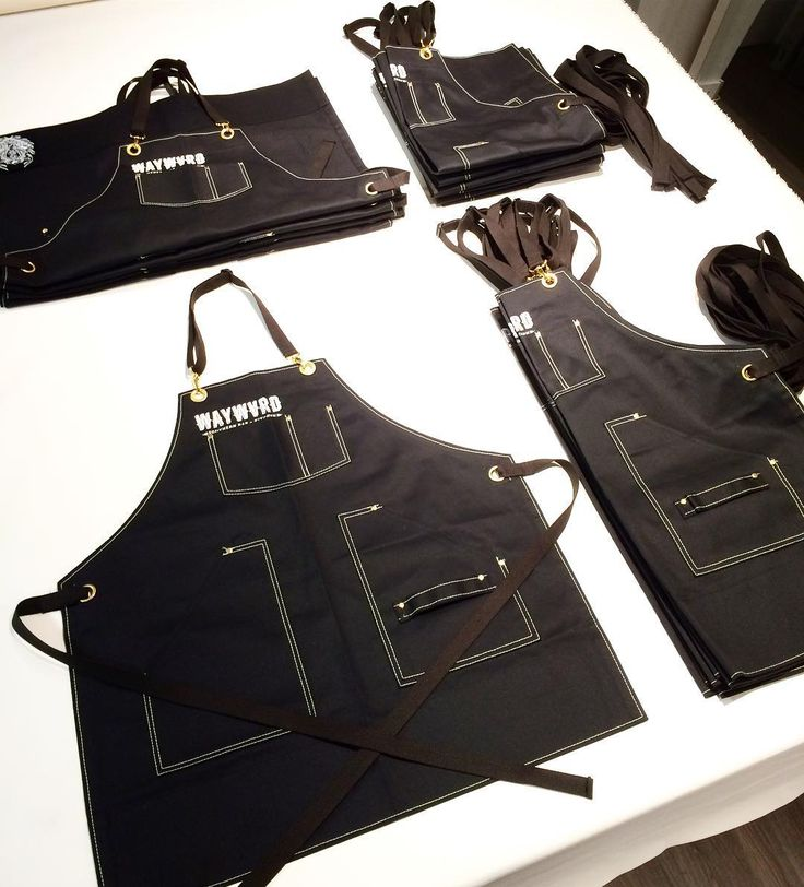 Custom chef and bartender aprons by Searchandrescuedenim.com