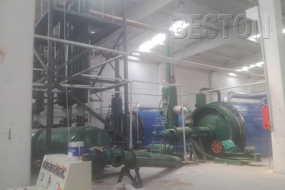 In order to deal with waste tires in a green way and create more profits, our company has manufactured a new type of waste tyre recycling plant.