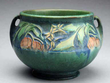 Roseville Pottery: History, Fakes and Values: Roseville Baneda Pattern