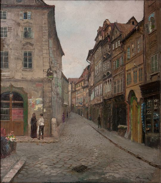 Jan Bedrich Minarik - Old Prague