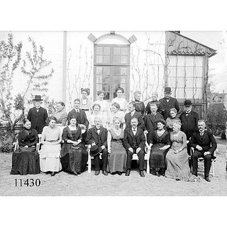 Family Kragelund 1912 by Aalborg Stadsarkiv, via Flickr in the archives you can find documents about family history and documentation on fashion