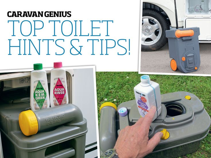 How to maintain your caravan loo - John Wickersham, author of the Haynes Caravan Manual, offers practical advice on how to get the best out of your caravan's cassette toilet – and even how to fix a leaky loo! (© John Wickersham/Practical Caravan)