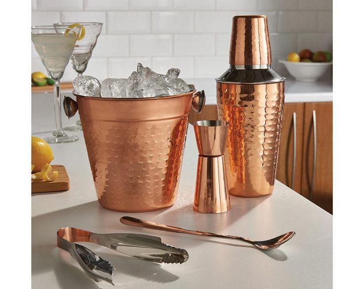 Copper Cocktail Set