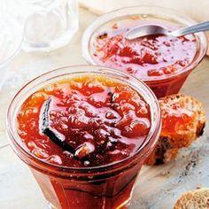 Confiture de tomate à la vanille
