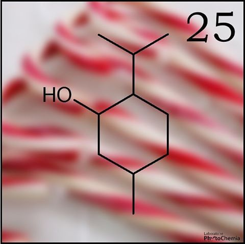 25 days of #PhytoChristmas : Chemistry Edition ! ********************************************** I am used to flavor Christmas candy canes. What am I?  Yesterday's answer :  Sucrose  #phytochemia #teamphytochemia #phytofamous #laboratory #lab #essentialoils #chemistryisfun #scienceisfun #phytochemistry #saguenay #quebec #phyto #scienceoninstagram #chemist #chemistry #scientist #sciencelover #naturalproducts #instascience #uqac