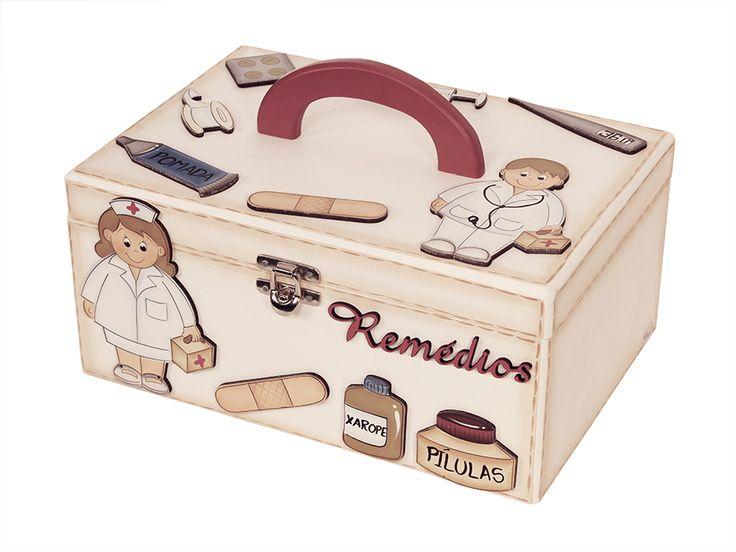 Caixa de Rem�dios | Caixas | Meu M�vel de Madeira - So cute!