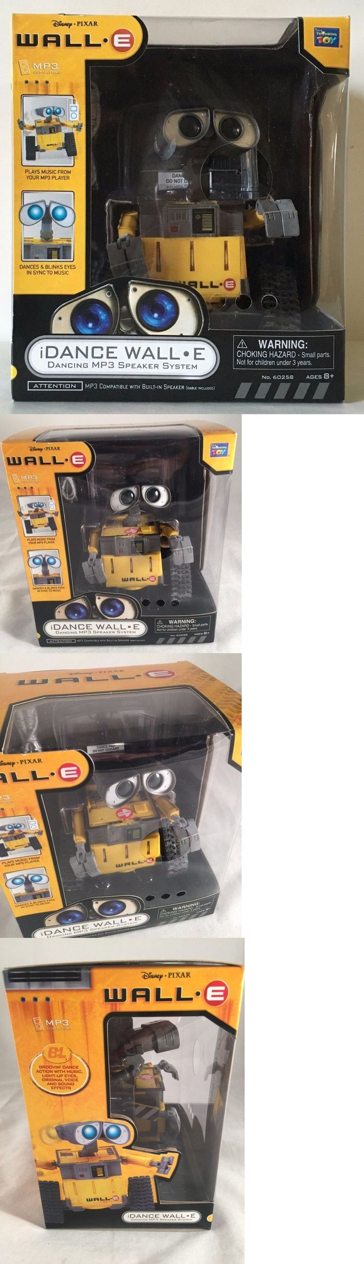Wall-E 168209: Disney Pixar Walle Idance Mp3 Speaker System Dancing Toy Music New Collectible -> BUY IT NOW ONLY: $124.99 on eBay!