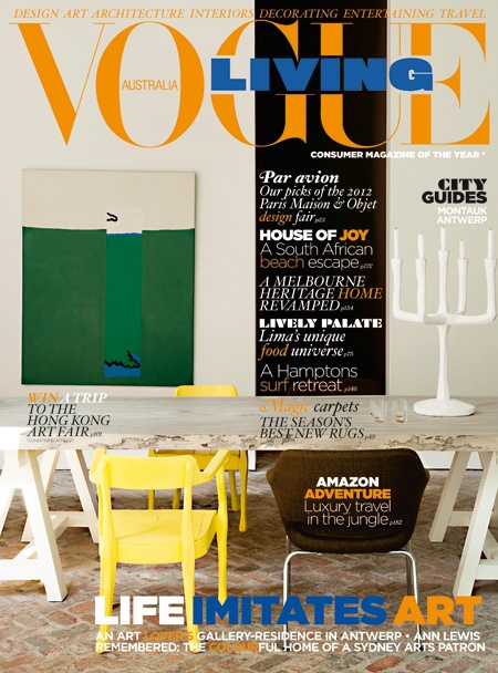 Vogue Living (AUS) May/Jun 2012. Interiors MagazineFree ...