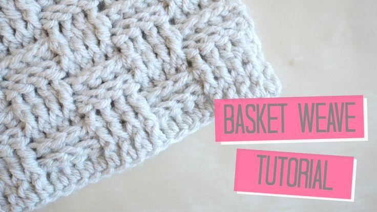 CROCHET: Basket weave tutorial | Bella Coco